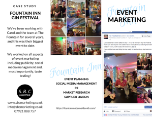 Fountain Inn Gin Festival case study