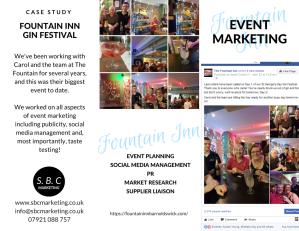 Fountain Inn Gin Festival case study