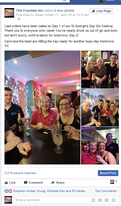 Fountain Inn Facebook