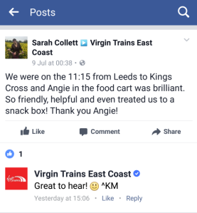 Virgin Trains screenshot